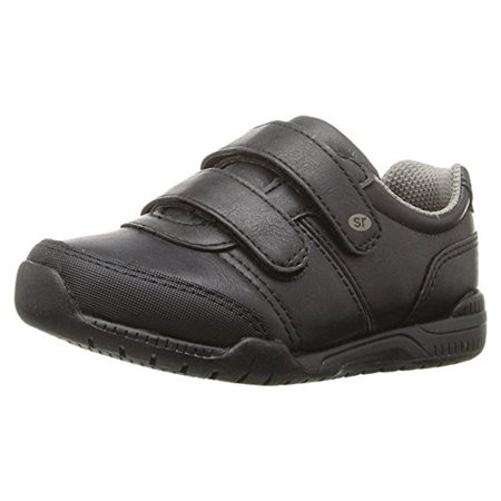Stride Rite Monte Sneaker (Toddler/Little Kid) Black 10 M
