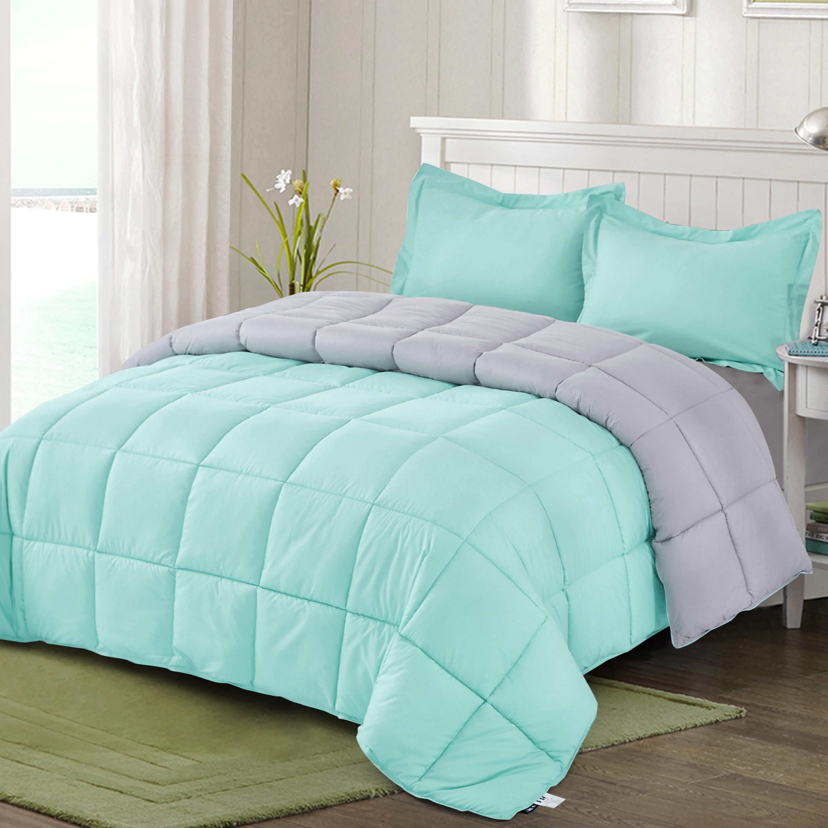 Hig Reversible Lightweight Comforter Set All Season Down