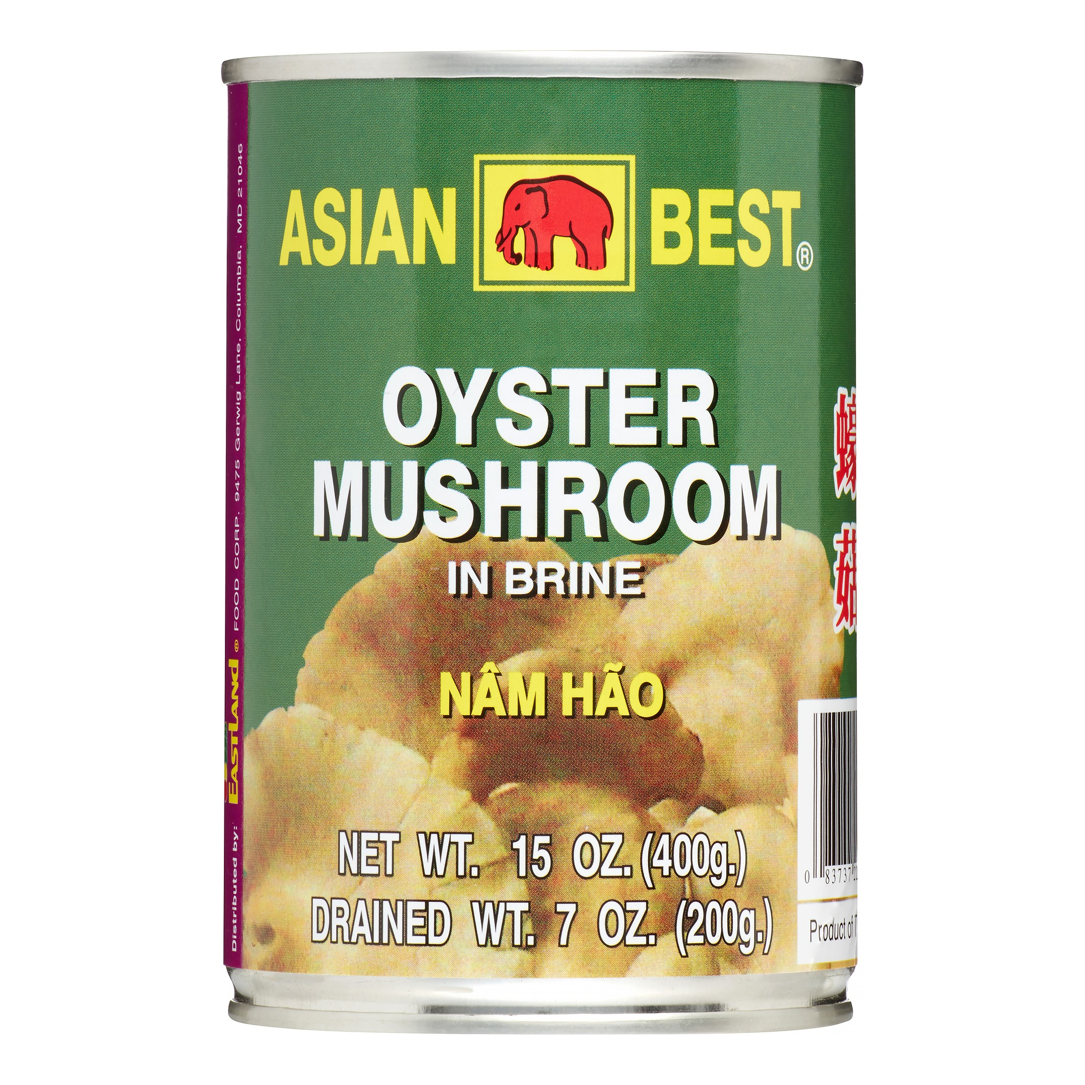 Asian Best Canned Oyster Mushroom, 15 Oz by Asian Best
