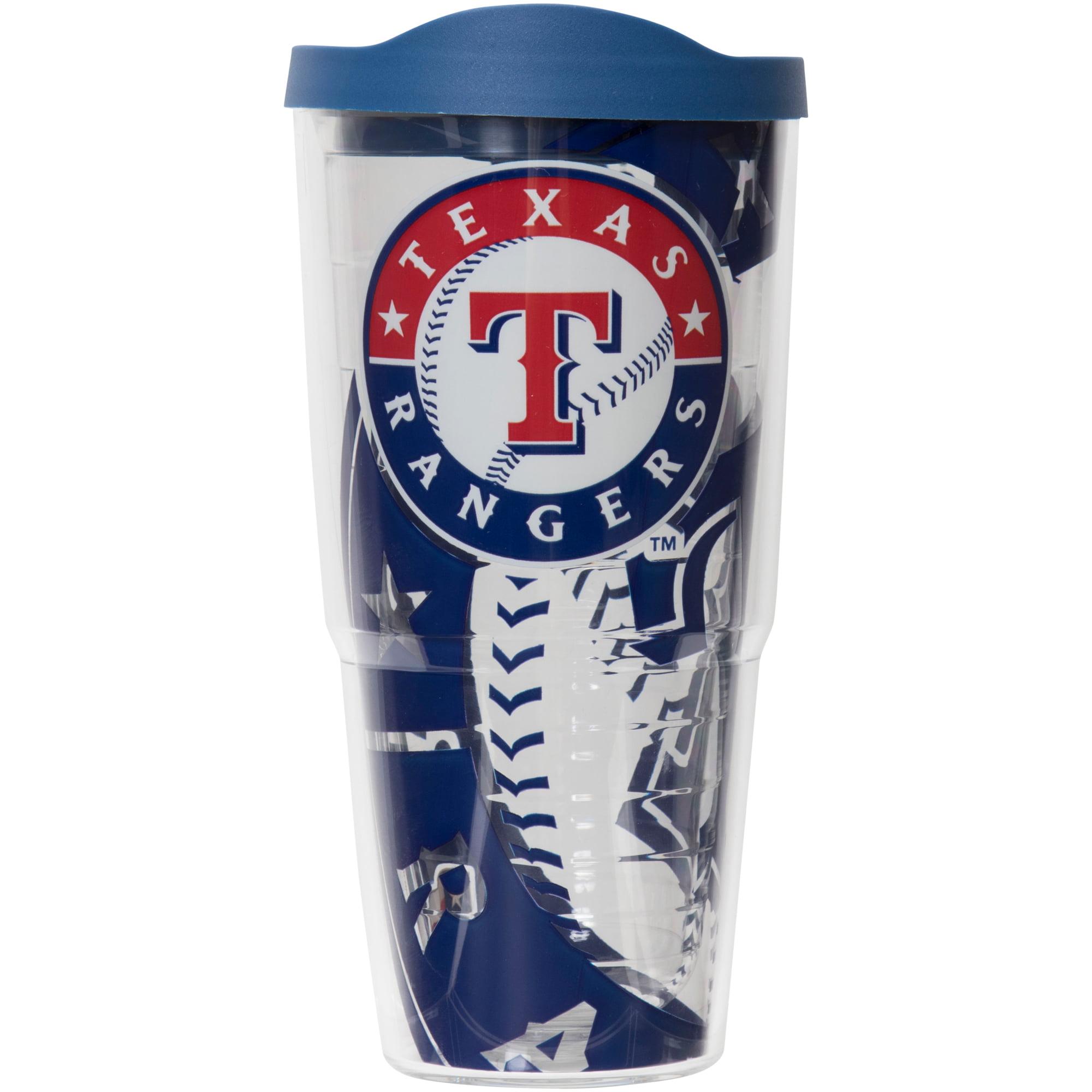 MLB Texas Rangers Genuine 24 oz Tumbler with lid