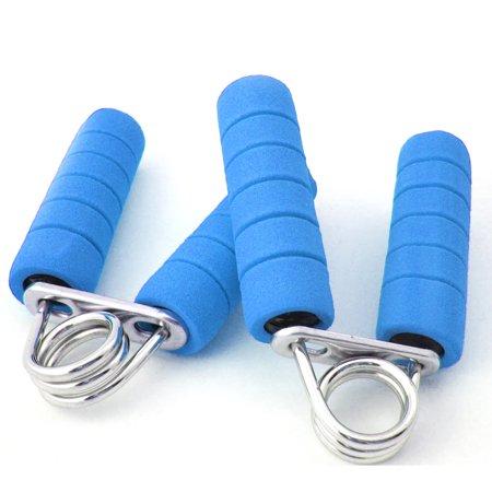 New Foam Hand Grip Fitness Exercise Wrist Arm Train Strength Builder 2 Pcs Pack