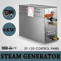 VEVOR 6KW Steam Generator Sauna Bath Steamer for Home SPA Shower with Waterproof Programmable Controls
