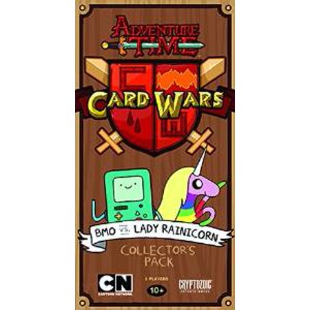 Cryptozoic - Adventure Time Card Wars BMO vs Lady Rainicorn Collector's Pack (Adventure Time Lady Rainicorn)