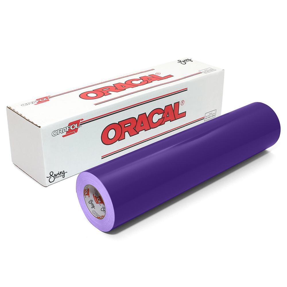 Oracal 651 Glossy Vinyl Rolls - Royal Purple