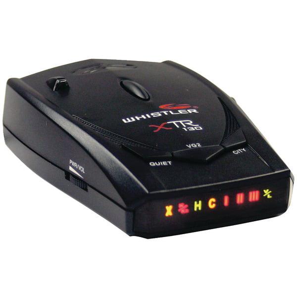 Accesorios Electrónicos Para El Auto Whistler XTR 130 Radar/Laser Detector con super brillante icono pantalla + Whistler en Veo y Compro