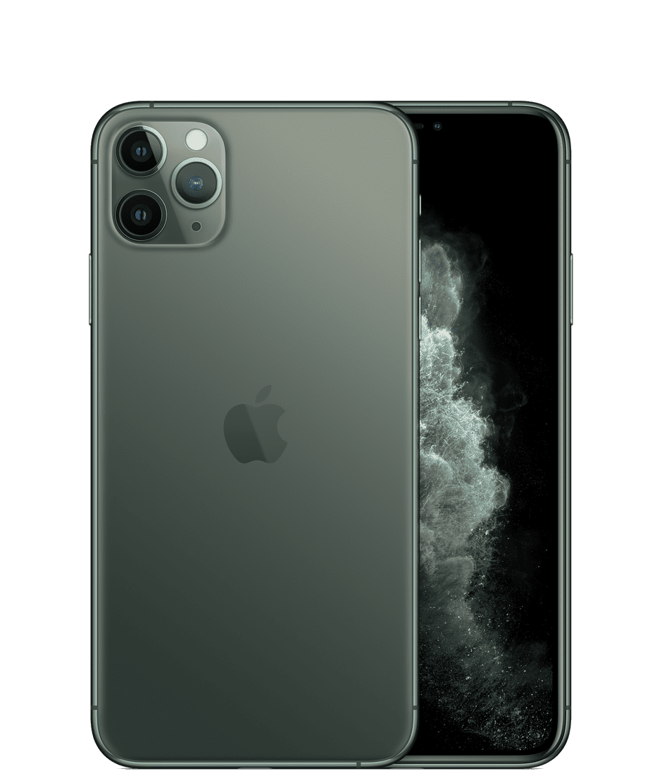 Apple Iphone 11 Pro Max 64gb Midnight Green Fully Unlocked A Grade Refurbished Walmart Com Walmart Com