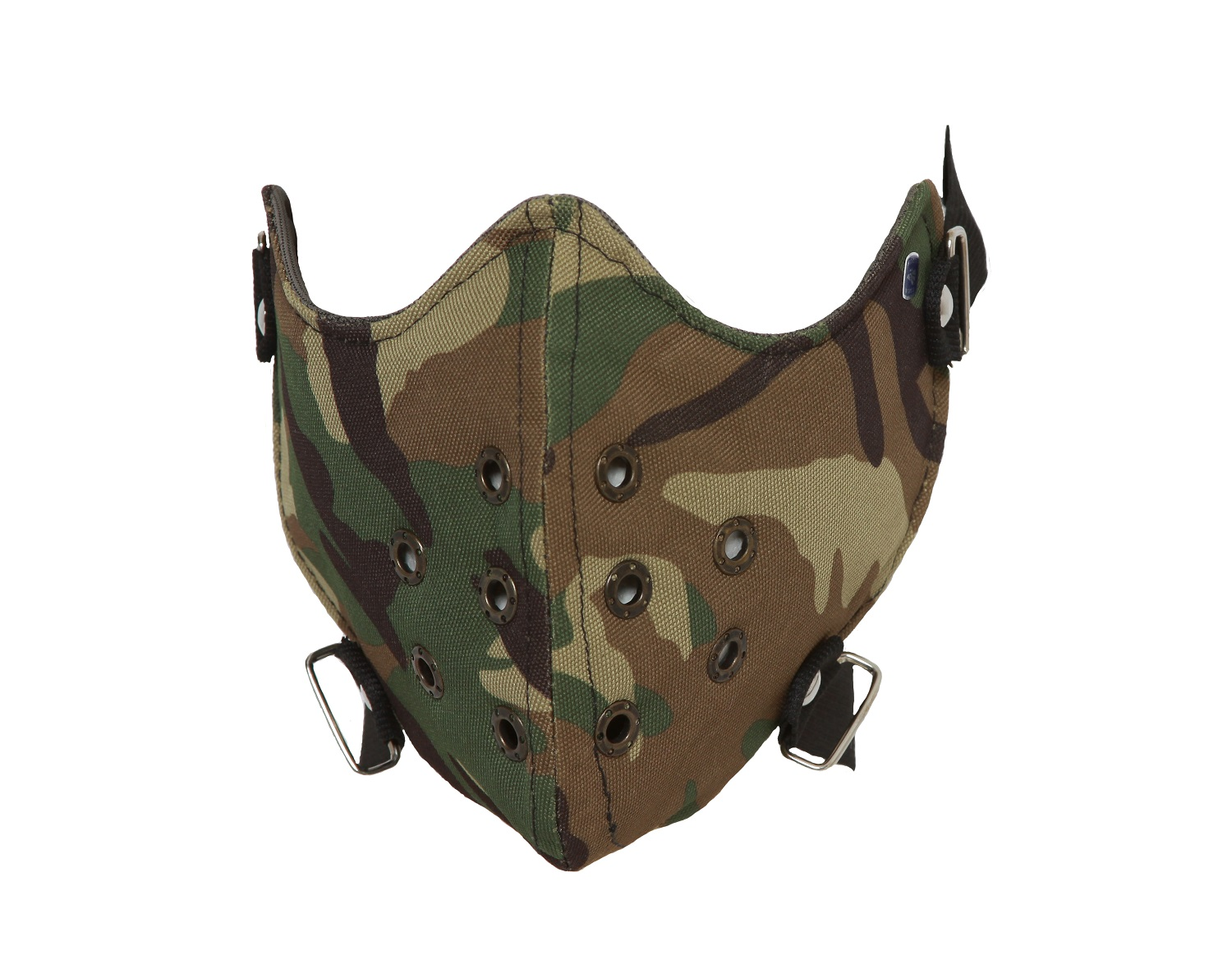 Army Camouflage Half Face Mask Camo by
