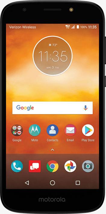 Verizon Wireless Motorola Moto E5 Play 16GB Prepaid Smartphone, Black