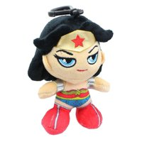 DC Comics Heroez Clipz 4 Inch Collectible Mini Plush - Wonder Woman