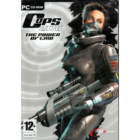 Force Disc - COPS 2170: The Power of Law PC CD - Riots, High-Tech Criminality & Conflict Between Government Forces & Big Corporations