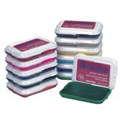 Clearsnap My First ColorBox Stack-A-Pad Non-Toxic Washable Stamp Pad, 2-7/8 X 2 in, Black