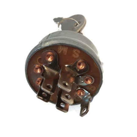 IGNITION KEY SWITCH for Toro Wheel Horse 83-0020 Scag 48798 Bobcat 128010 Mowers by The ROP Shop