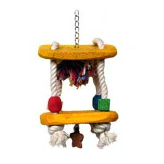 Parrotopia TOY 18 15 in. x 5 in. Carousel
