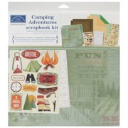 "Karen Foster Camping Adventures Scrapbook Page Kit, 12"" x 12"""