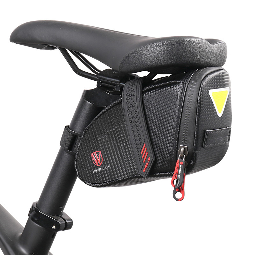 Bike MTB Bicycle Saddle Bag Under Seat Waterproof Storage Tail Pouch Cycling Bag