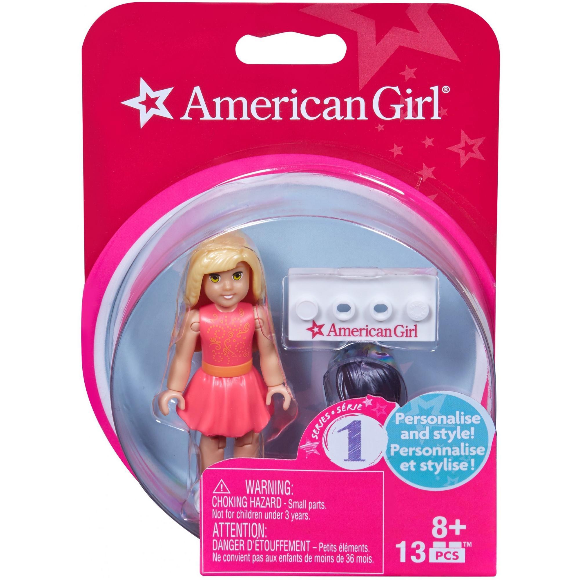 Mega Bloks Series 1 American Girl #1 Collectible Figure