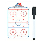 "A&R Sports Hockey Pocket Coach Training Board 5x4"" Write On Wipe Off With Marker"