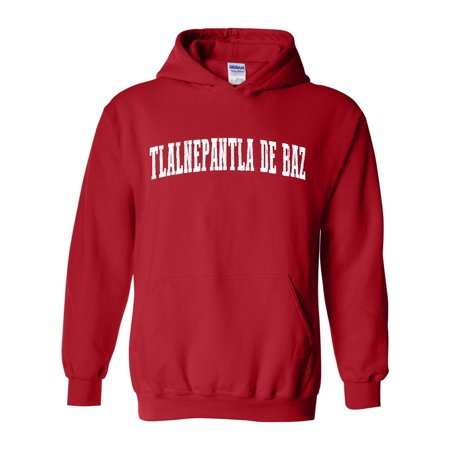 Tlalnepantla Mexico Map.Tlalnepantla De Baz Map What To Do In State Of Mexico Men S Hoodie