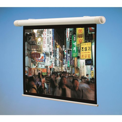 """Salara Plug and Play High Contrast Grey 100"""" Electric Projection Screen"""