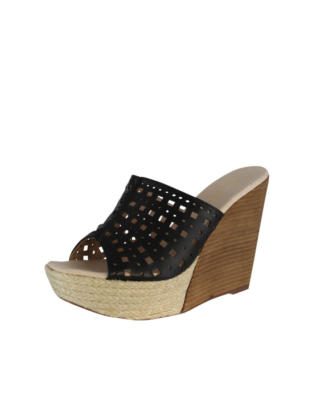 Restricted Womens Spumoni Wedge Sandals Economical, stylish, and eye-catching shoes