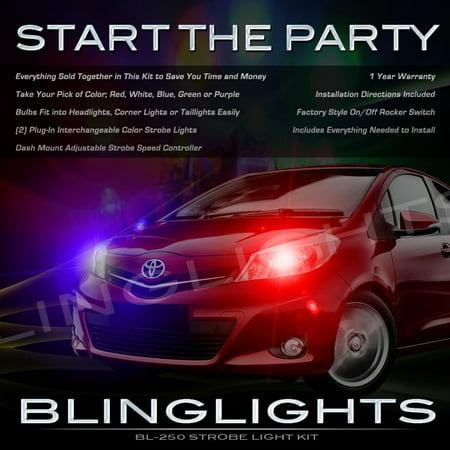 Daihatsu Charade Strobe Light Kit for Headlamps Headlights Head Lamps Lights
