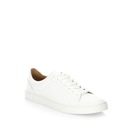 Ivy Low Leather Lace-Up Sneakers