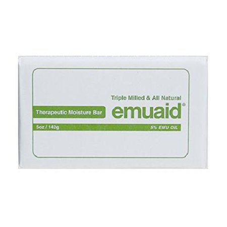 Emuaid Therapeutic Moisture Bar 5Oz Bath Soap Skin Dermatitis Psoriasis Eczema Rosacea