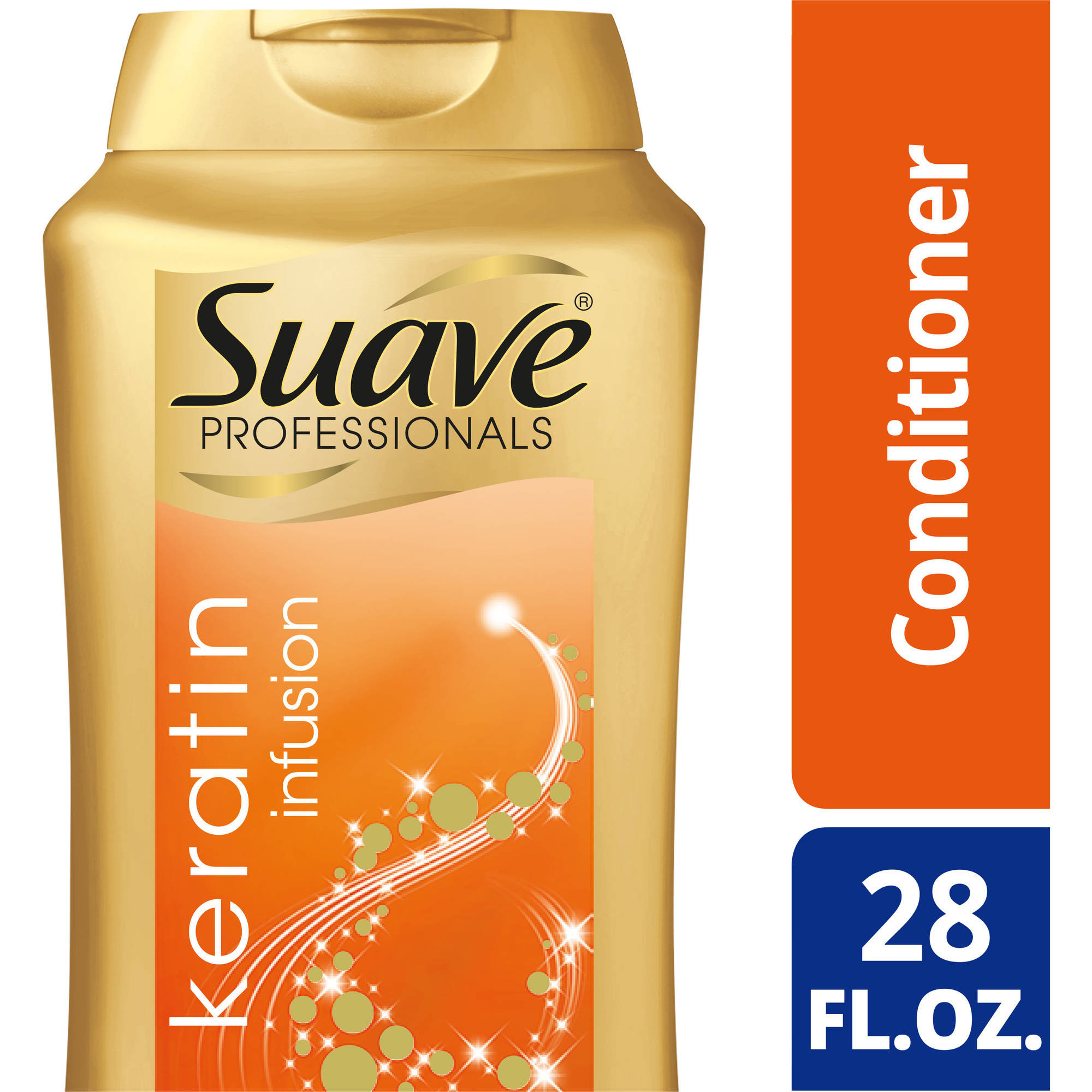 Suave Professionals Keratin Infusion Smoothing Conditioner, 28 oz
