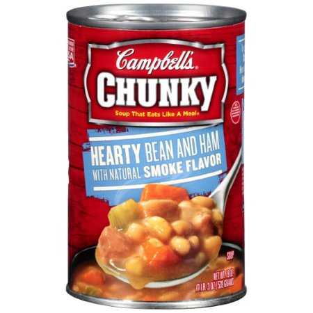 Campbell's Chunky Hearty Bean & Ham Soup 10 Bean Soup