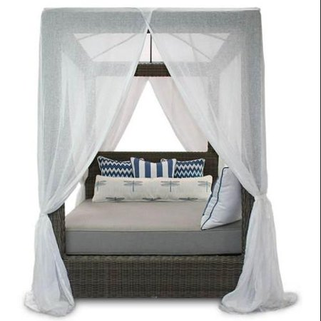 Patio Heaven Contemporary Canopy Bed  728 Product Photo