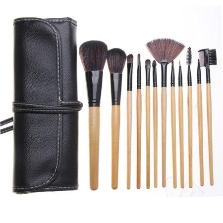 ZOE AYLA 12 Piece Professional Make-Up Brush Set with Travel Case - image 4 of 7