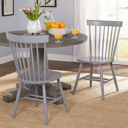 Venice Chair, Set of 2, Gray ()