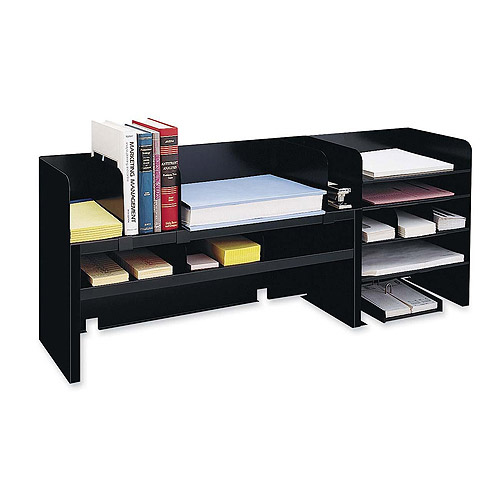 MMF Industries Raised Shelf Design Desk Organizer