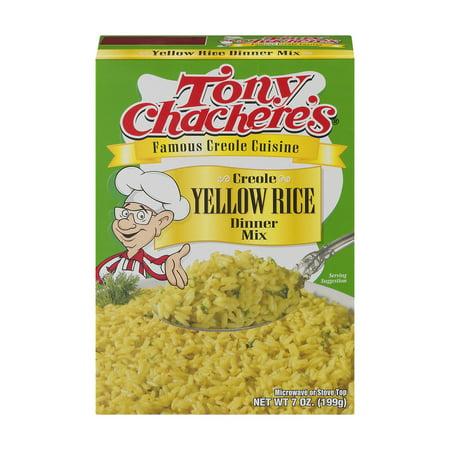Tony Chacheres Creole Yellow Rice Dinner Mix  7 0 Oz