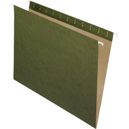 Pendaflex, PFX81600, Standard Green Hanging Folders, 25 / Box, Standard Green