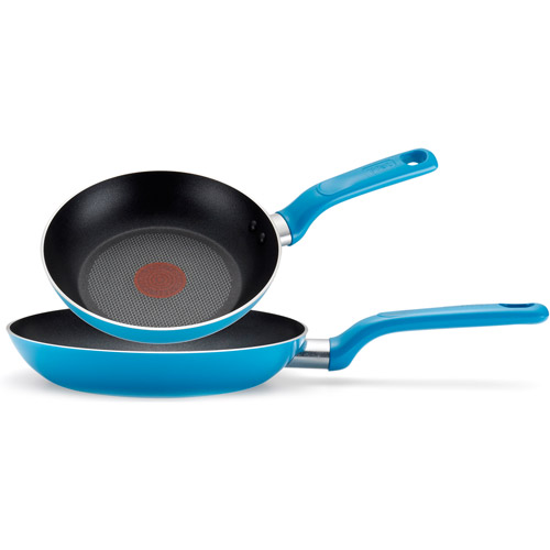 "T-Fal 8""/10.25"" Excite Non-Stick Thermo-Spot 2-Piece Fry Pan Cookware Set"
