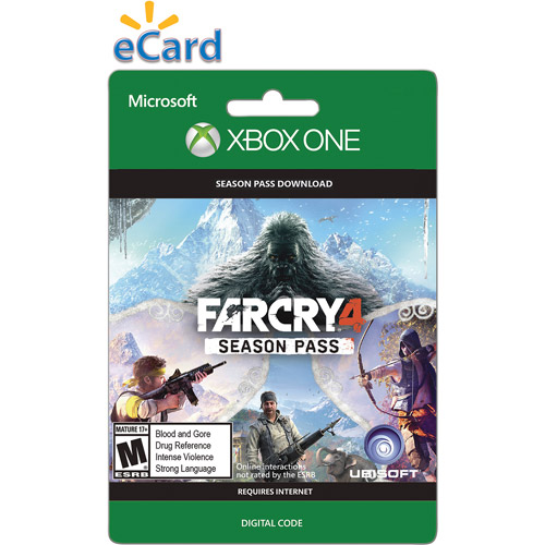 Xbox One Far Cry 4 Seasons Pass $29.99 (Email Delivery)