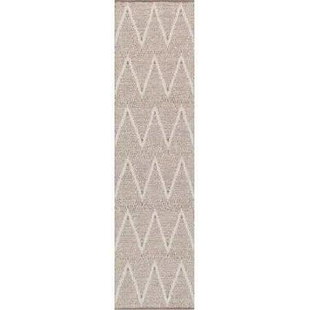 Pasargad PLW-05 2.06x10 2.06 x 10 ft.Simplicity Collection Hand - Woven Cotton Runner, Aqua - image 1 de 1