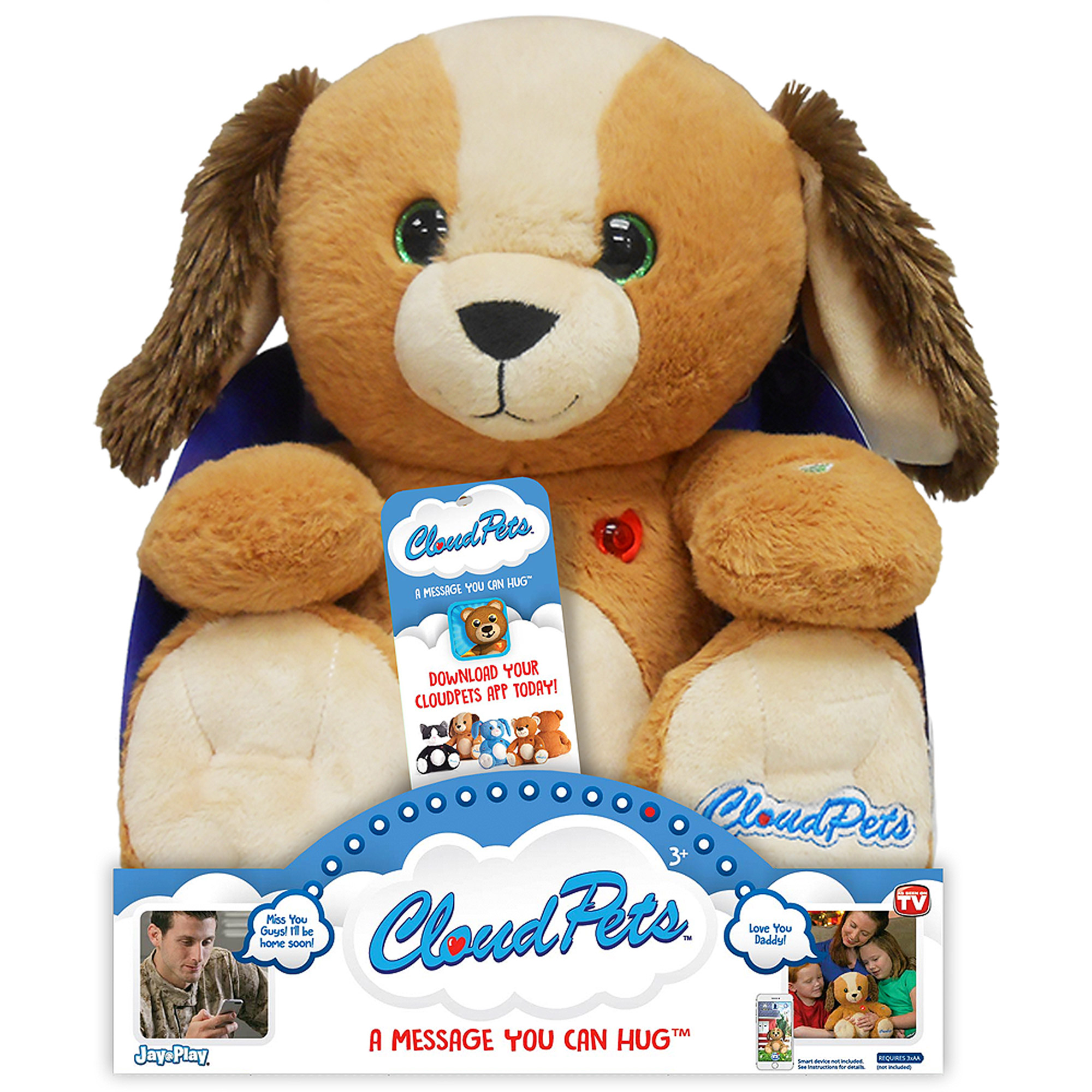 """As Seen on TV Cloud Pets 12"""" Dog"""