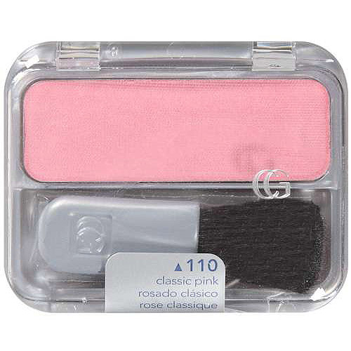 CoverGirl Cheekers Blendable Powder Blush Classic Pink, .12 Oz