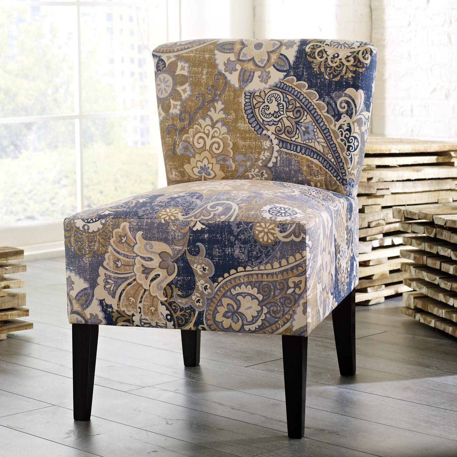 Signature Design by Ashley Ravity Denim Accent Chair