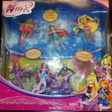 Winx Exclusive Transformation Collection 3.75