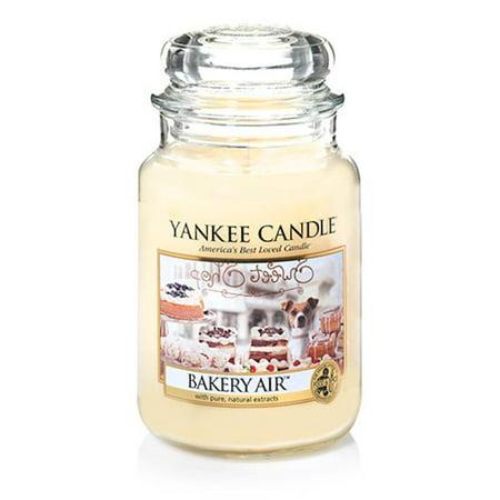 Yankee Candle Bakery Air 1351676 Large Jar 22 oz Candle