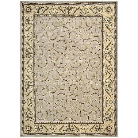 Nourison Somerset Scrollwork Decorative Woven Area Rug