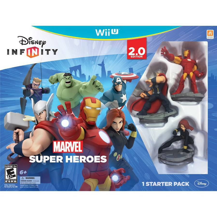 Disney Infinity: Marvel Super Heroes (2.0 Edition) Video Game Starter Pack (Wii U)