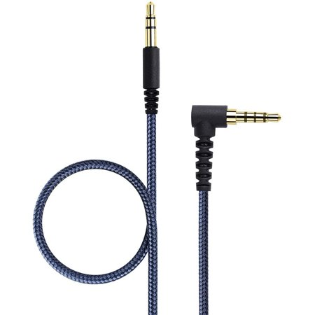 KetDirect 1.5m(4.5ft) Audio 3.5mm AUX Replacement Headphone/Headset Audio Cable with in-Line Remote Microphone Volume - image 5 de 5
