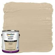 ColorPlace Ready To Use Interior Paint, Sahara Desert Sand, 1 Gallon, Satin