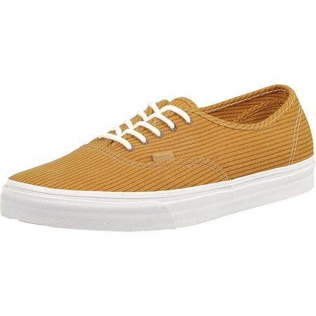 Vans - Vans Men s Authentic Ca Washed Herringbone Incan Gold Ankle-High  Canvas Fashion Sneaker - 12M - Walmart.com 874a87e90