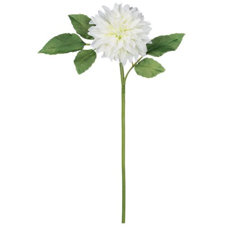August Grove Dahlia Flower Stem (Set of 4)