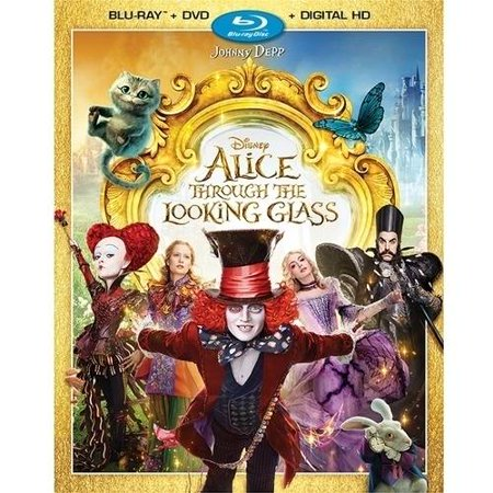 Alice Through The Looking Glass  Blu Ray   Dvd   Digital Hd
